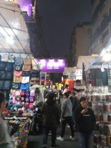 香港、女人街