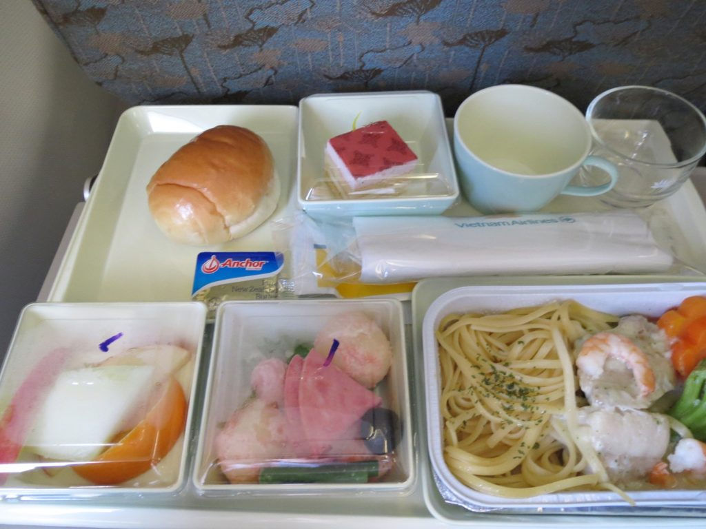 ベトナムエアライン 機内食