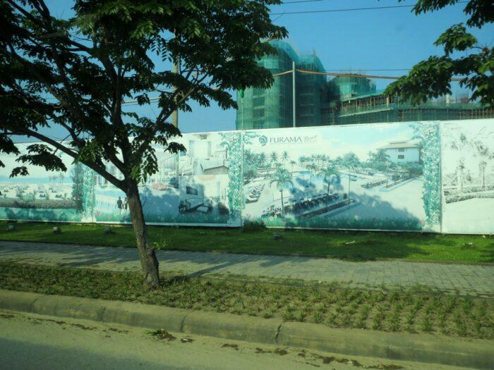 ベトナム、ダナン、フラマリゾートダナンホテル建設予定図
