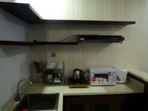 アナメゾンホテルのキッチン