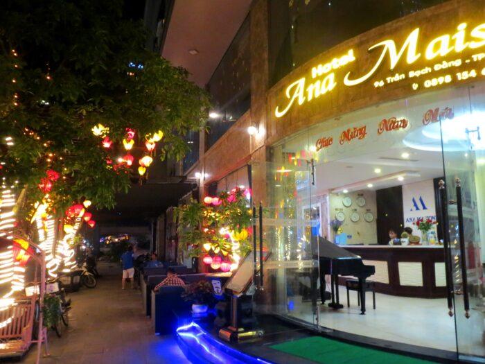 ベトナム、ダナン、アナメゾンホテルの外観