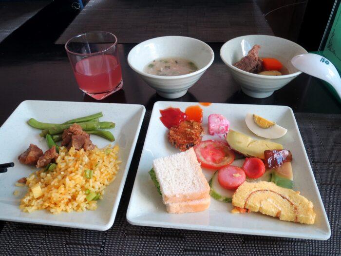 アナメゾンホテルの朝食