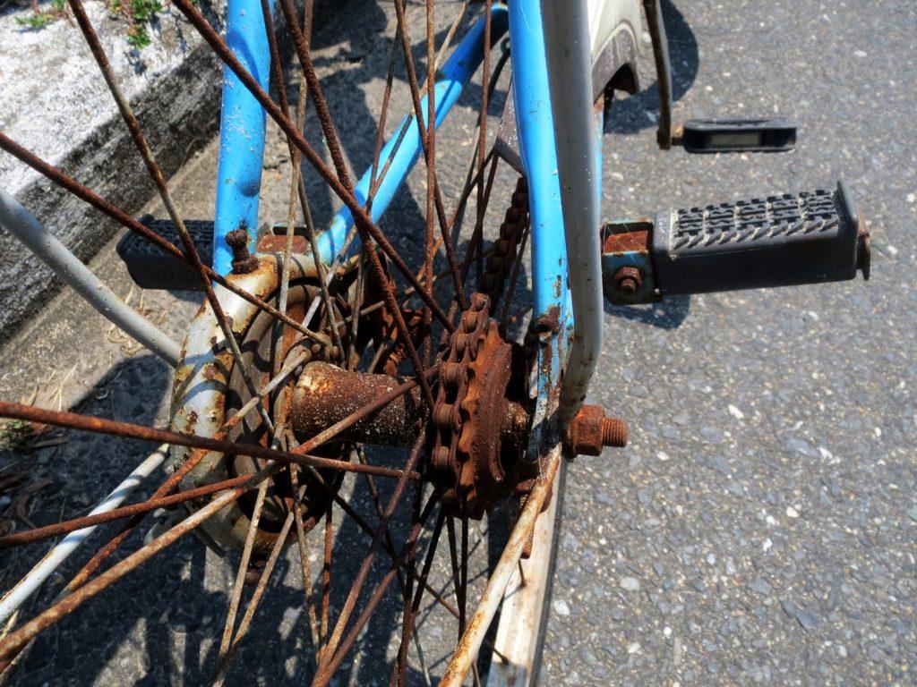 アナメゾンの自転車