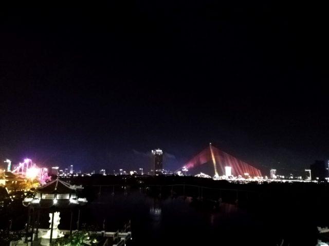 ダナンの夜景