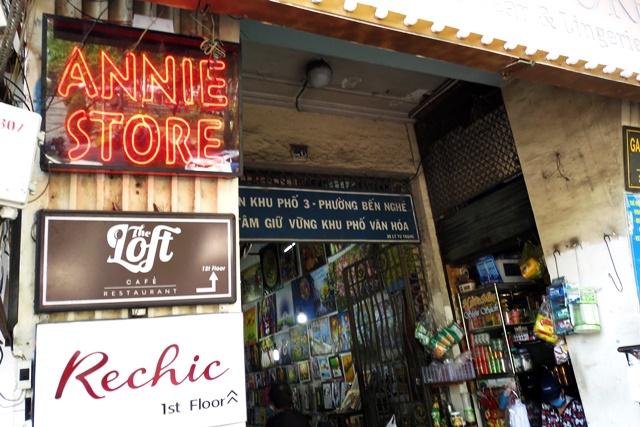 コンカフェ、ホーチミン、ドンコイ通り